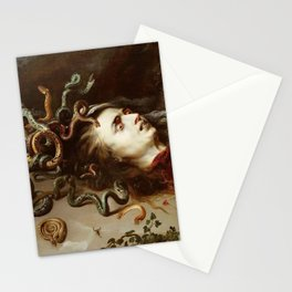 Peter Paul Rubens - The Head Of Medusa - Baroque Painting Stationery Cards