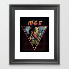 MGS V Framed Art Print