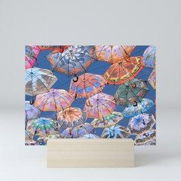 Umbrella Canopy 2 Mini Art Print
