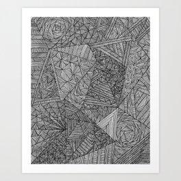 Brain Fart Art Print
