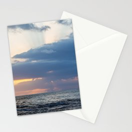 Sunset over the Atlantic ocean   Travel photograph from Jamaica   Fine art landscape photograhy print.  Stationery Cards