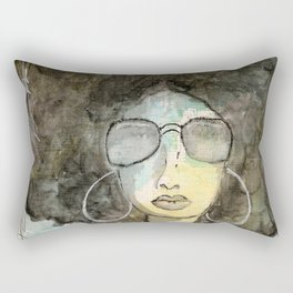 Dope Girl Rectangular Pillow