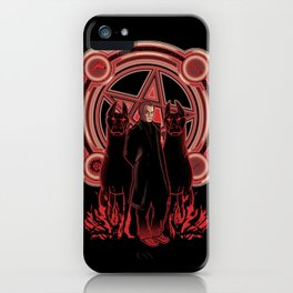 Hells King iPhone Case
