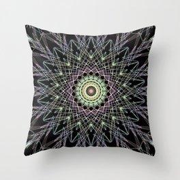 Simetry Star Throw Pillow