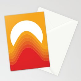 Desert Sunrise Stationery Cards