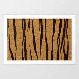 Animal Patterns - Tiger Art Print