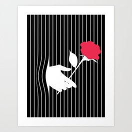 Hidden Flower Art Print