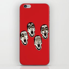 Kiss Cage iPhone Skin