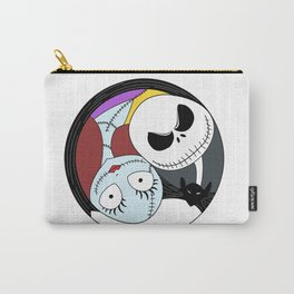 Jack & Sally Yin Yang Carry-All Pouch