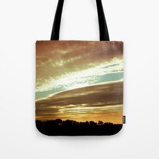 Dawn On The Side Tote Bag