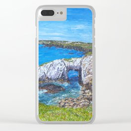 Gromllech Rock Arch Clear iPhone Case