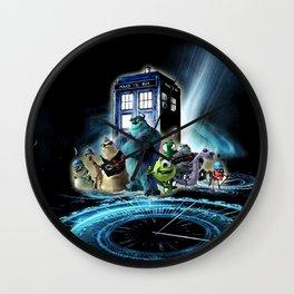 Tardis of monster inc Wall Clock