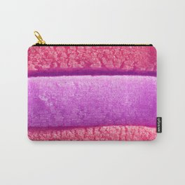 Red Scarlet Purple Colored Bubble Gum Texture Carry-All Pouch