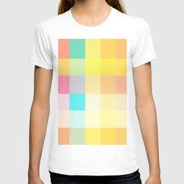summer girl dress colors T-shirt