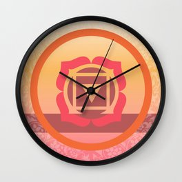 Muladhara  - the root Wall Clock