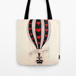 Voyage to Infinity Tote Bag