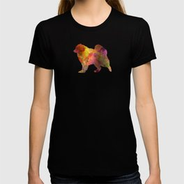 Samoyed in watercolor T-shirt