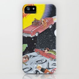 Hang A Louie After The Wormhole iPhone Case