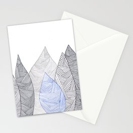 Pen & Ink Leaves Stationery Cards