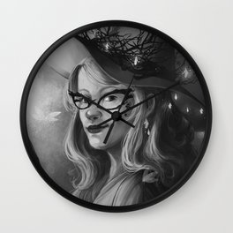 Researcher Luna Lovegood Wall Clock