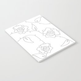 Rose Bush Notebook