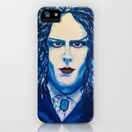 Jack, White & Blue iPhone Case