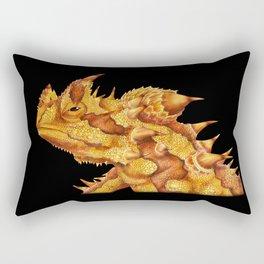 Thorny Devil Rectangular Pillow