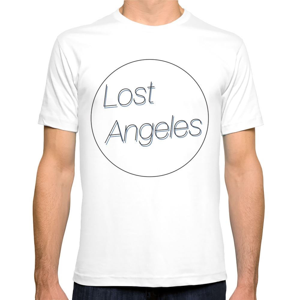 Lost Angeles Tee Shirt by jacobstordahl