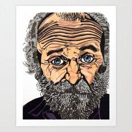 Old Man - Bethany Walrond Art Print