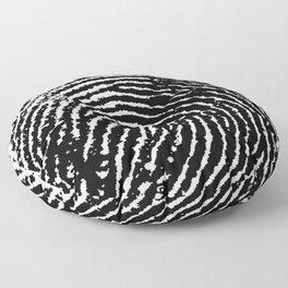 Fingerprint Floor Pillow