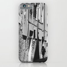 Into the shadows b&w iPhone 6s Slim Case