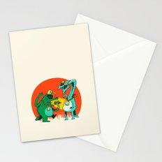 Kaiju Rap Battle Stationery Cards