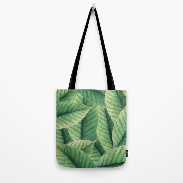 Greenery leaves II Tote Bag