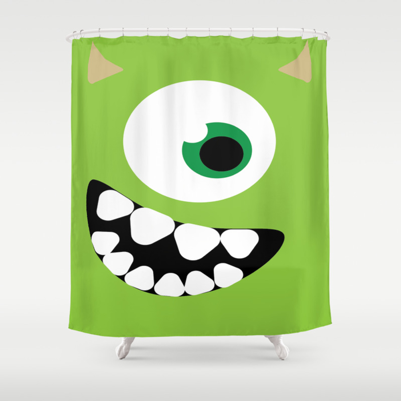 Mike Wazowski Shower Curtain by Jordenestes20 CTN8823599
