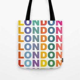Retro London England poster Tote Bag