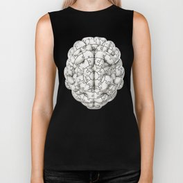 Puzzle brain GINGER / Your brain on puzzles Biker Tank