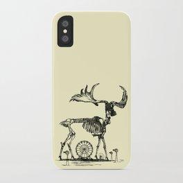Gas Mask Deer iPhone Case
