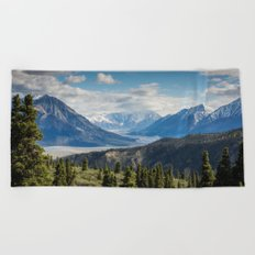 Mountain Landscape # sky Beach Towel