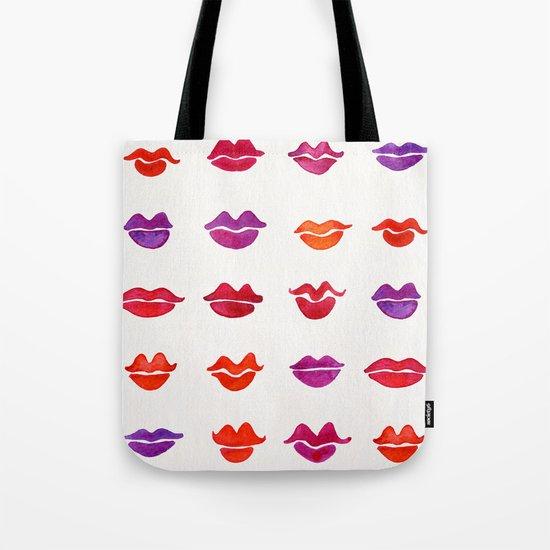 Kiss Collection – Fuchsia Palette Tote Bag