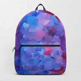 Blue Raspberry Cubes Backpack
