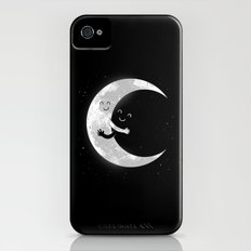 Moon Hug iPhone (4, 4s) Slim Case