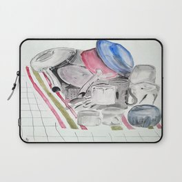Dishes Laptop Sleeve