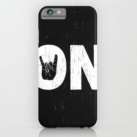 Rock On iPhone & iPod Case