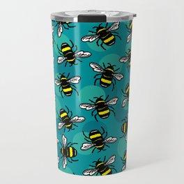 Bumble Bees Travel Mug