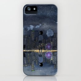 童話與現實的邊緣 Living between Fairy Tale and Reality iPhone Case