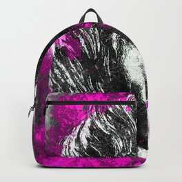The Pink Horse by Brian Vegas Backpack