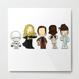 Hitchhikers guide Metal Print