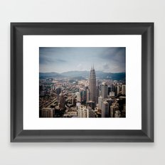 petronas Framed Art Print