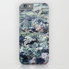 Moss texture 2 iPhone Case