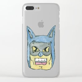 Not Bat-Man Clear iPhone Case